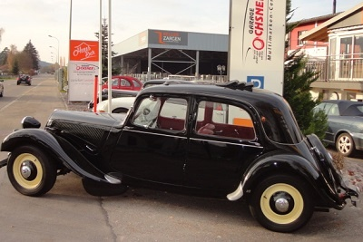 Gangster Citroën, schwarz