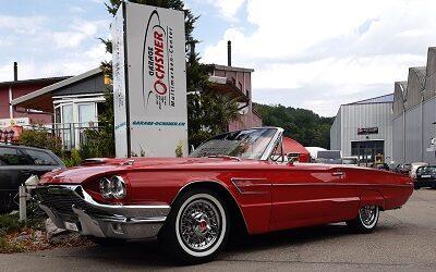 Ford Thunderbird, Cabriolet