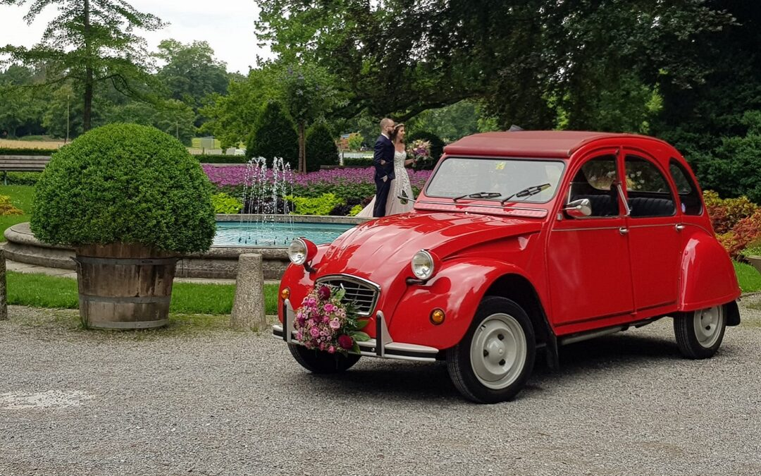 Ein nicht alltägliches Hochzeits-Auto
