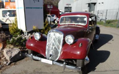 Gangster Citroën, bordeaux