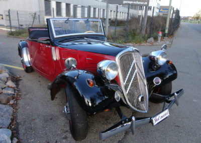 Gangster Citroën, Cabrio
