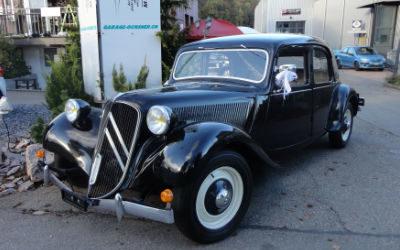 Gangster Citroën, dunkelblau
